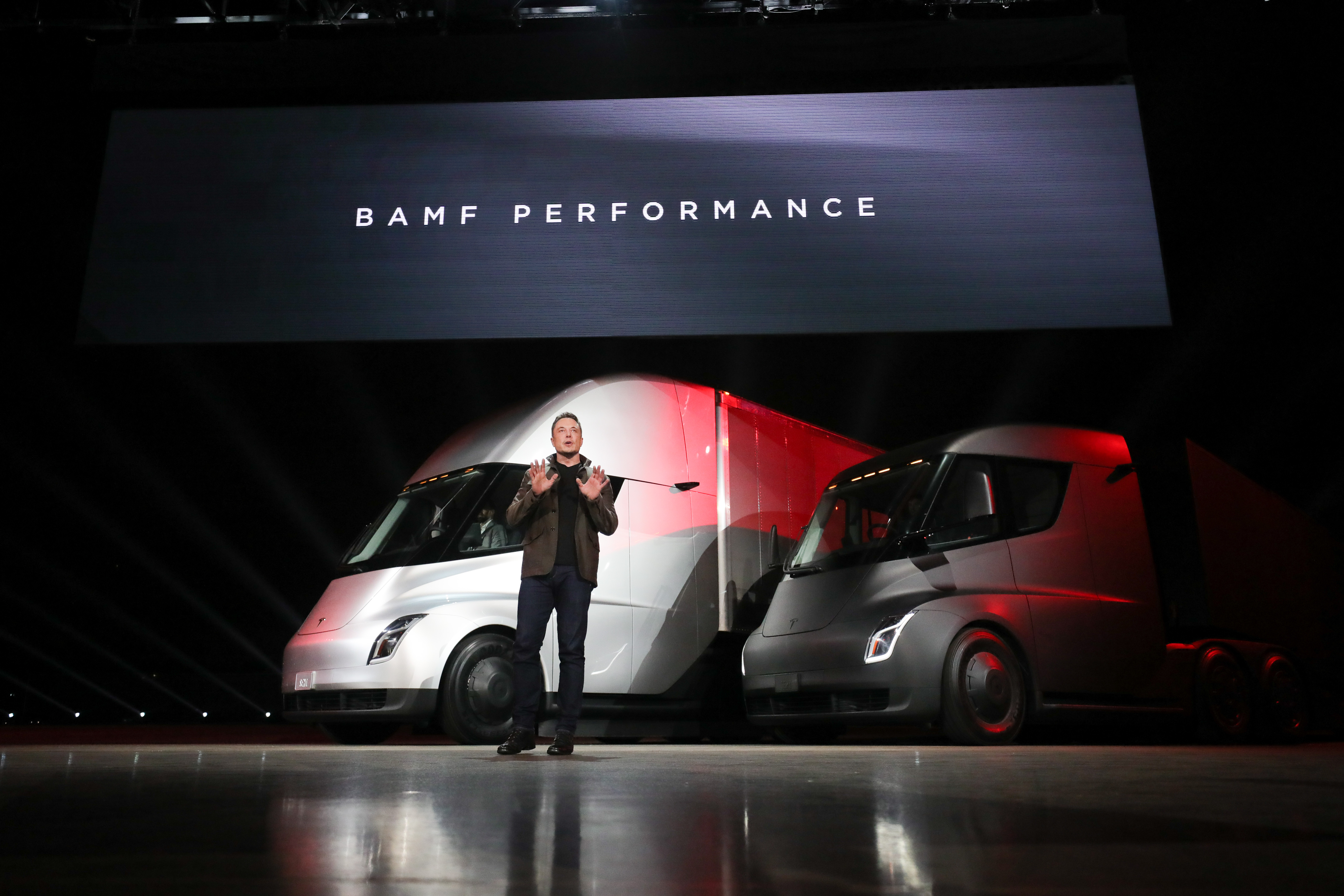 The Tesla Semi is set to start production in 2019.